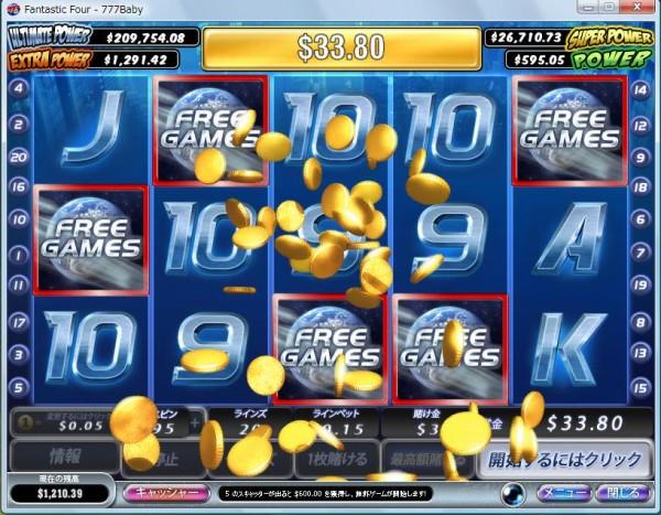 オンラインカジノのスロットの特徴